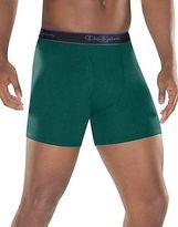 Champion Men's Underwear Performance Cotton Regular Boxer Brief 3-Pack
