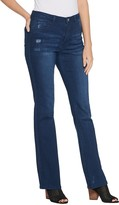 Women With Control Women with Control Tall My Wonder Denim Boot-Cut Jeans- Indigo