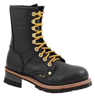 AdTec Women's 2439 Logger Boots 9