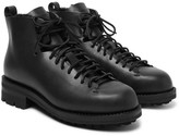 Feit Hiker Shearling-lined Leather Boots - Black