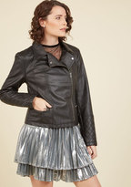 Means to an Edge Jacket in Black in M
