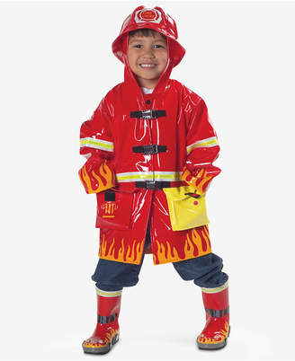 Kidorable Fireman Raincoat, Toddler Boys