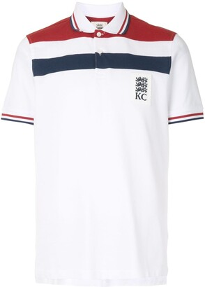 Kent & Curwen Short Sleeve Block Color Polo Shirt