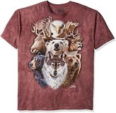 The Mountain Northern Wildlife Collage T-Shirt