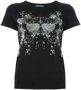 Alexander McQueen moth print T-shirt