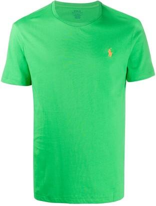 Polo Ralph Lauren embroidered logo cotton T-shirt