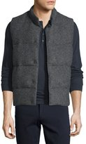 Vince Quilted Wool-Blend Vest