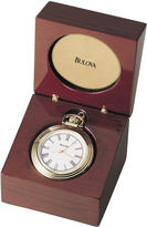 Bulova Aston Convertible Table Clock Pocket Watch