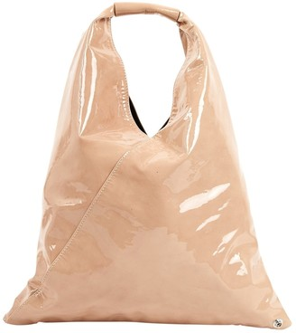 Maison Margiela Beige Patent leather Handbags