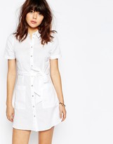 Asos Linen Shirt Dress