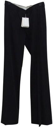 Nicole Farhi Black Wool Trousers for Women