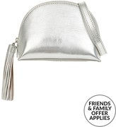 Loeffler Randall Metallic Tassel Cross-body Pouch