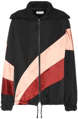 Dries Van Noten Striped zip-up jacket