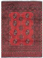Bloomsbury Market One-of-a-Kind Izquierdo Hand-Knotted Wool Red Area Rug