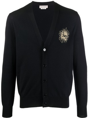 Alexander McQueen Exploded Mini Skull cardigan