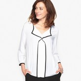 Anne Weyburn Draping Blouse