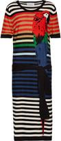 Sonia Rykiel Printed silk and cotton-blend dress