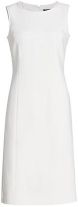 Piazza Sempione Sleeveless Stretch Sheath Dress