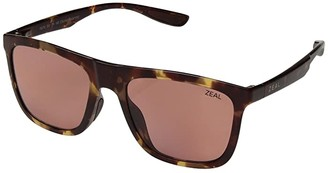 Zeal Optics Boone (Matte Tortoise/Polarized Rose Lens) Fashion Sunglasses