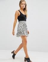 Maison Scotch Feminine Viscose Skirt