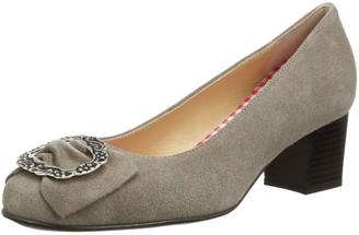 Diavolezza Women's CATIA Court Shoes Beige Beige (Taupe) 8