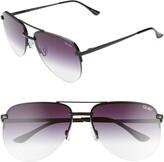 Quay x JLO The Playa 56mm Aviator Sunglasses