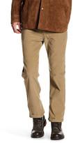 Levi's 514 Straight Leg Lead Grey Corduroy Pants