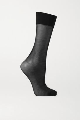 Maria La Rosa Stretch-knit Socks - Black