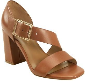 Aerosoles Tailored Leather Sandals - Lenox