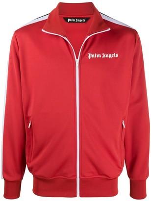 Palm Angels Logo Print Track Jacket