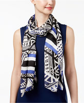 Vince Camuto Tribal Racer Silk Scarf