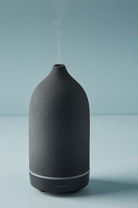 Vitruvi Black Stone Essential Oil Diffuser By in Black Size ALL