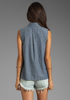 Marc by Marc Jacobs Dotty Chambray Top
