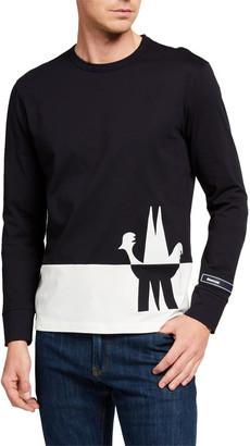 Moncler Men's Colorblock Long-Sleeve T-Shirt