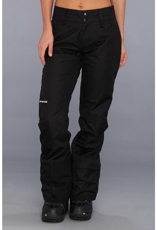 Patagonia Insulated Snowbelle Pants - Reg (Black) - Apparel