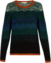 Vanessa Bruno Flavor eyelet-knit wool and cashmere-blend sweater