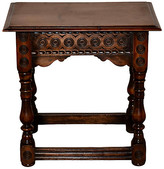 One Kings Lane Vintage 19th-C. Walnut Carved Stool - Black Sheep Antiques