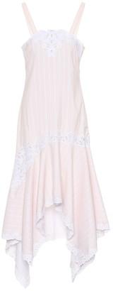 Jonathan Simkhai Cotton and silk dress