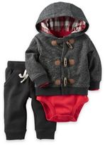 Carter's 3-Piece Bodysuit, Pant, and Jacket Set