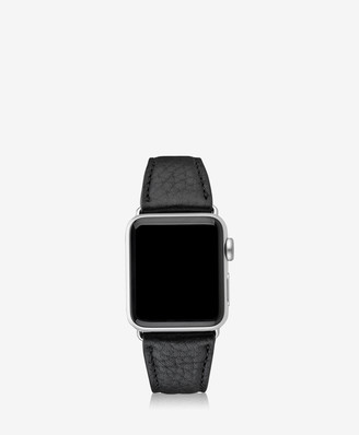 GiGi New York 38mm Apple Watch Band, Black Pebble Grain