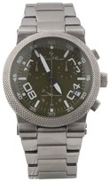 Lucien Piccard 2A-355 Urban Chronograph Olive Green Guilloche 45mm Watch