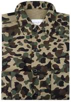 Sandro Camouflage Print Shirt