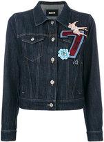 Miu Miu multi-patch denim jacket