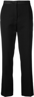 Joseph high waisted cropped trousers