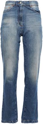 Magda Butrym Stephenville High-rise Straight-leg Jeans