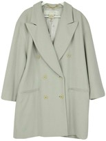 Escada Grey Wool Coat for Women