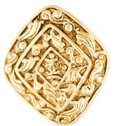Chanel CC Textured Brooch