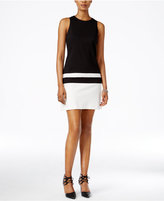 Bar III Colorblocked Sheath Dress, Only at Macy's