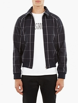 A.p.c. Navy Wool Eden Jacket