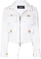 DSQUARED2 cargo pocket jacket